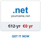 Free .net domain name
